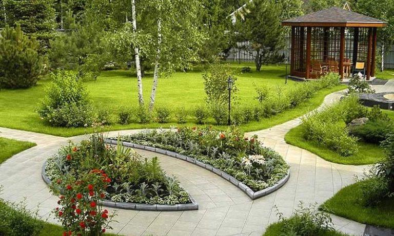Фото ландшафтного дизайна многоквартирных домов