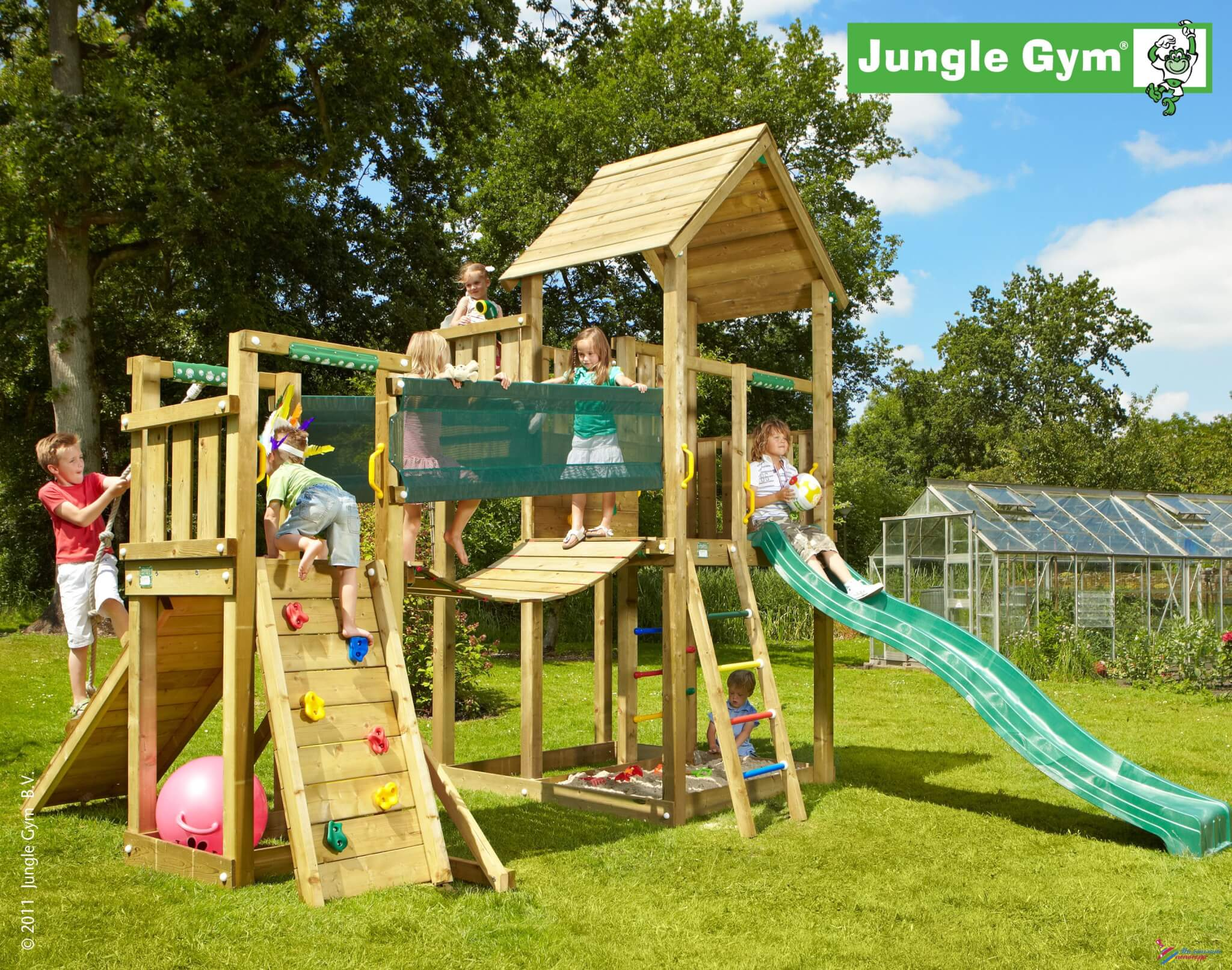 Детская площадка Jungle Gum
