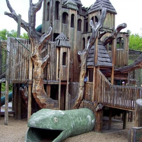 Оригинальные детские площадки США