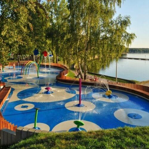 Водная детская площадка