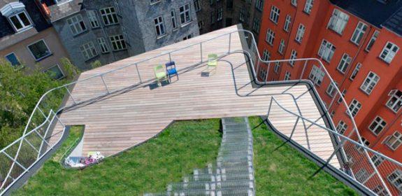Детские площадки на крышу