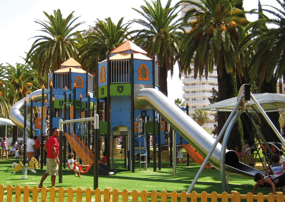 Детские площадки Proludic