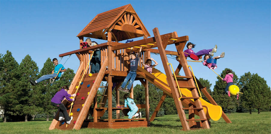 Детские площадки Rainbow