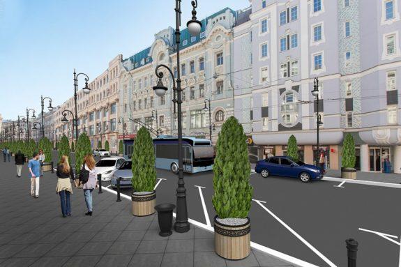 Благоустройство и озеленение Москвы и области