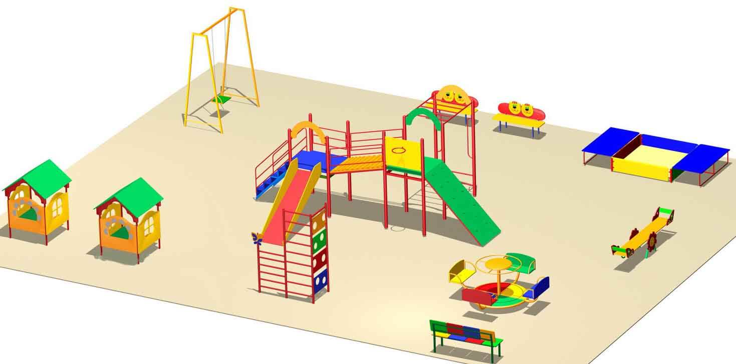 Благоустройство территории детского сада, современные тенденции