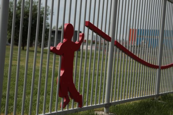 Забор детской площадки
