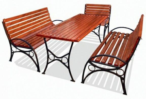 Деревянная мебель для улицы