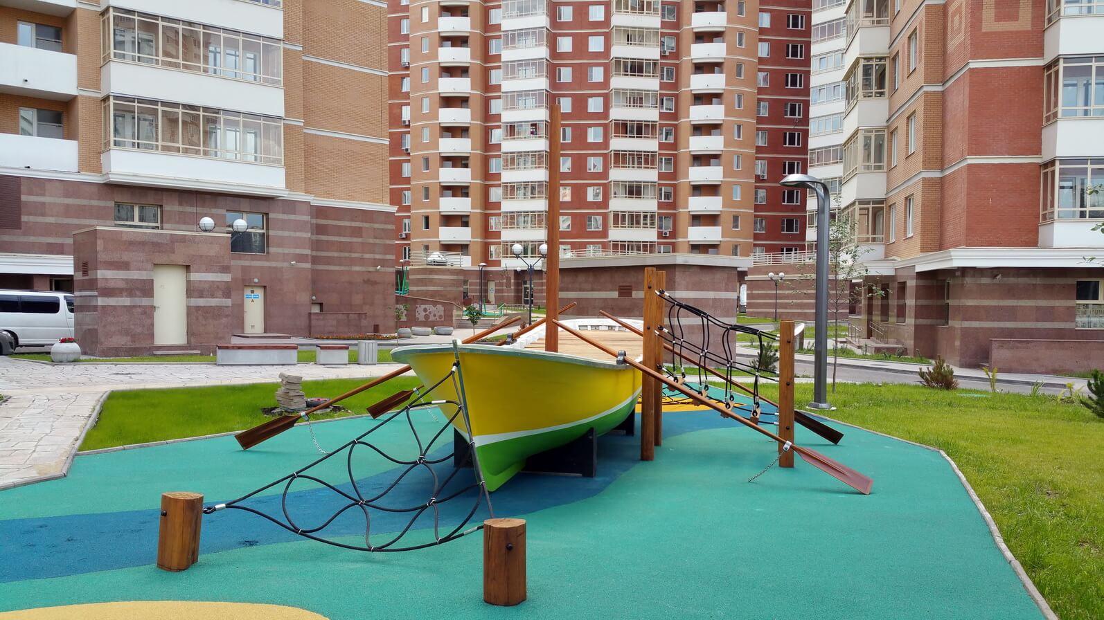 Детские площадки из Европы