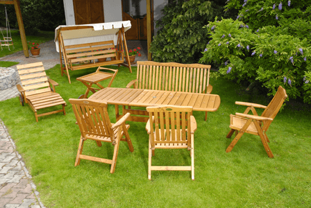 Мебель для сада и парков
