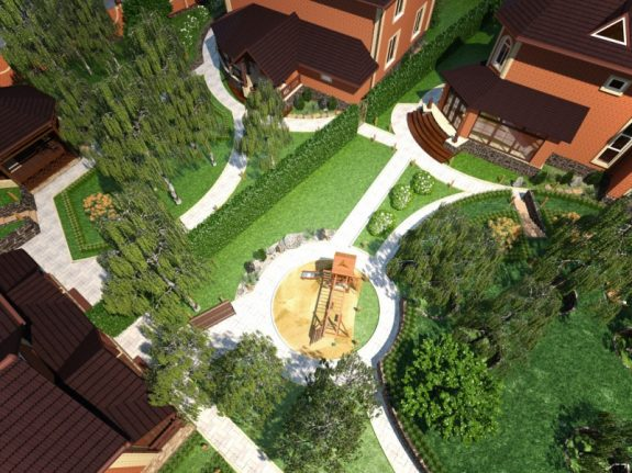Озеленение придомовой территории многоквартирного дома