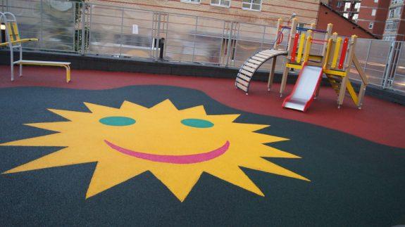 Покрытие спортивных и детских площадок