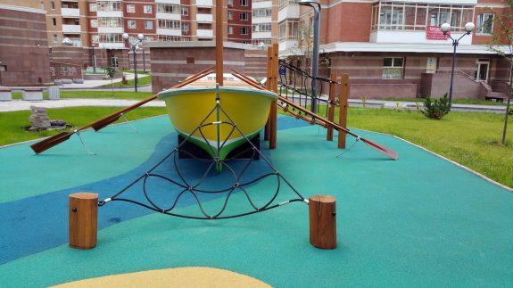 Проектирование детских площадок