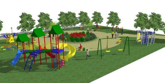 Детские площадки проекты