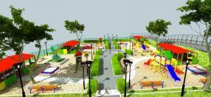Игровые площадки и спортивное оборудование для детского сада
