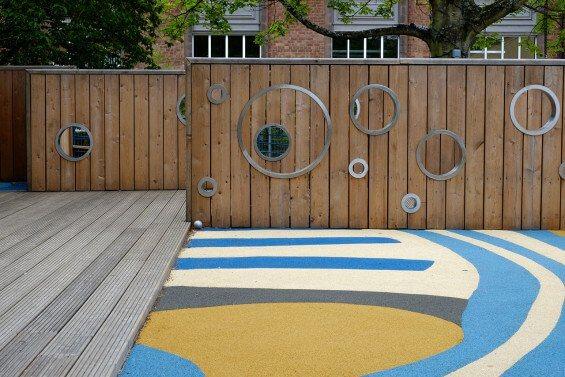 Площадки детского сада в Эдинбурге