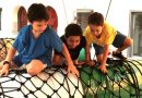 Игровая зона в парке PlayScape