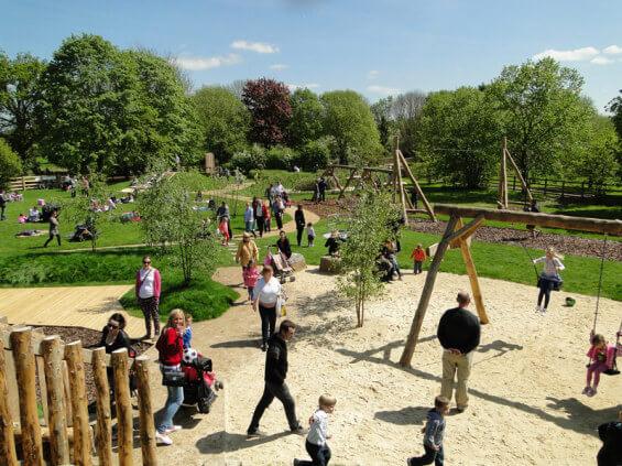 Интерактивная площадка Dinton Nature Play Space