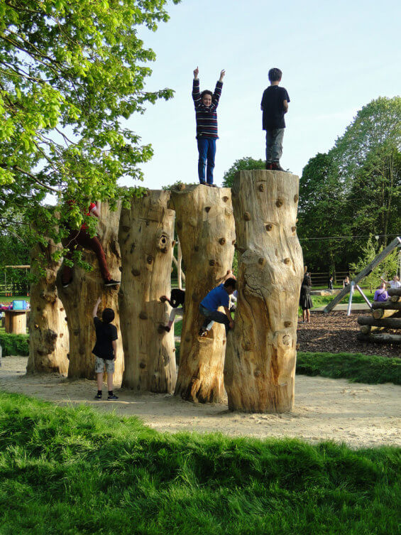 Гнезда-башни Dinton Nature Play Space