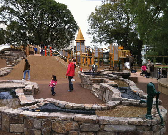 Lafayette парк - общий вид