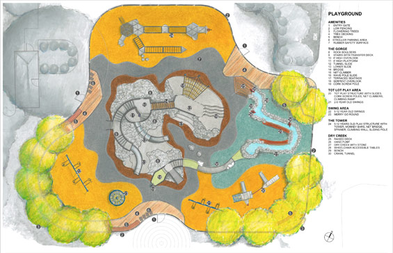 План Лафайет парка