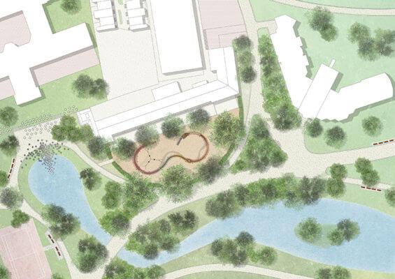 Схема Oosterpark