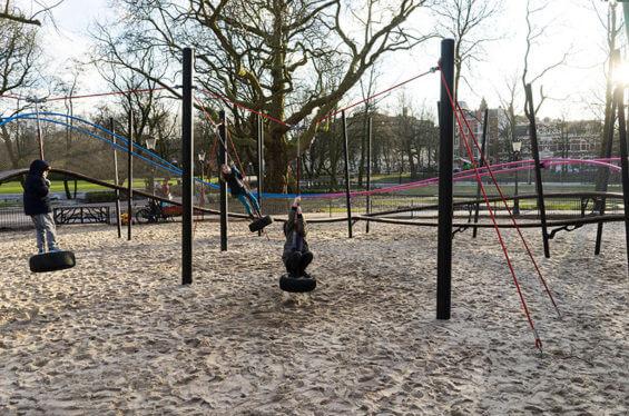 Песочница в Oosterpark