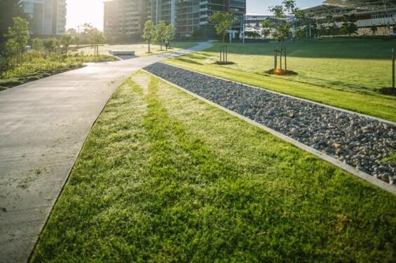 Кен Флетчер Park – парк на месте промзоны