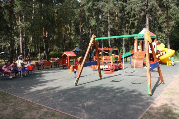Детская площадка в парке Кузьминки