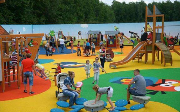 Необычные детские площадки Москвы