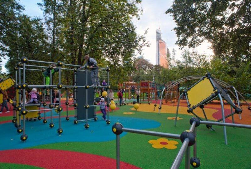 Идем гулять   самые лучшие детские площадки в Москве
