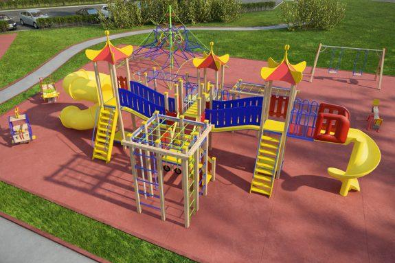 Лучшие детские площадки в Москве