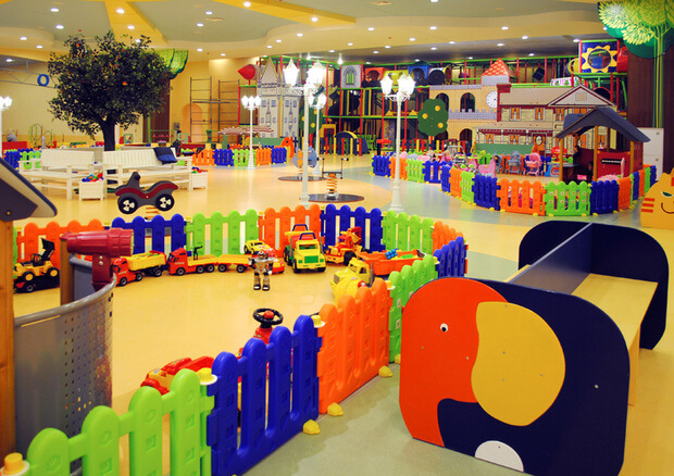 Детские площадки для торговых центров