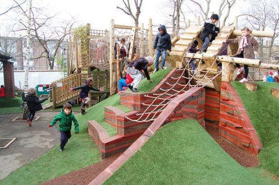 Детские площадки в Лондоне