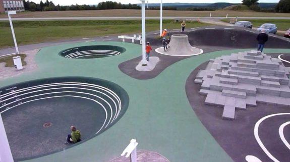 Игровая площадка в Pulse-Park