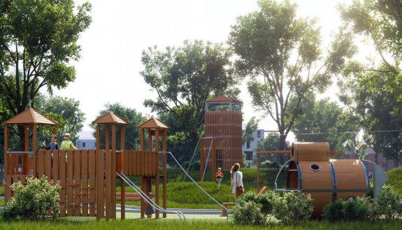 Детская площадка Общение с природой