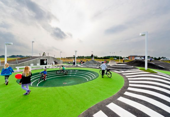Детские площадки от архитектора Cebra