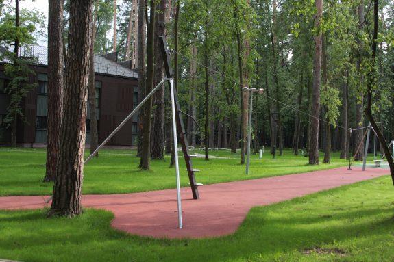 тарзанка, детская площадка