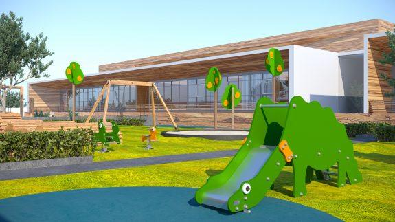Детский сад игровая площадка