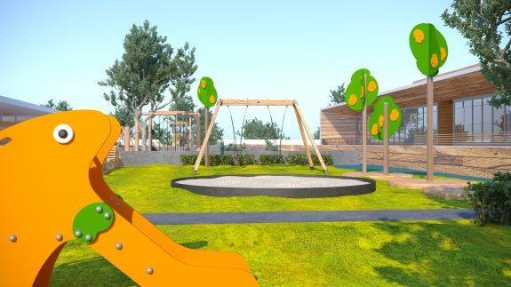 Игровой городок в детском саду