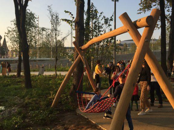 Детская площадка гамак