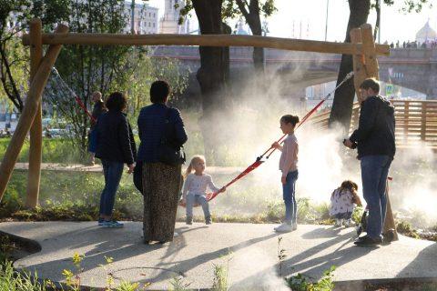 Зарядье детская площадка